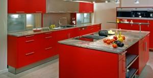 cozinhas-Vermelha